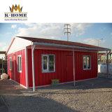 20FT Flat Pack recipiente isolado de calor House para a Islândia