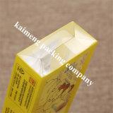 Luxuxentwurfs-Gelb-Farben-Drucken-Haustier-faltender Plastikkasten Ebay
