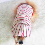 عادة شريط أحمر جذّابة كلب ملابس