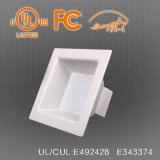 UL Downlight carré Commercial modulable par LED, 20W-45W, 100lm/W