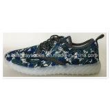 Calzado deportivo de la malla coloridos zapatos casual zapatos para mujer