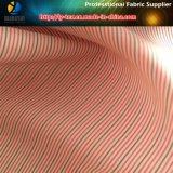 Подкладка пальто Fer женщин Red&Blue высококачественная в ткани нашивки пряжи полиэфира покрашенной (S166.167)