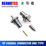 Weiblicher BNC Verbinder des Schutzwand-Panel-Montierung HF-Verbinder-