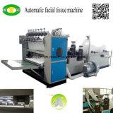 Doble automático que graba precio de la máquina de la fabricación de papel de tejido facial
