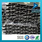 Perfil de aluminio de la protuberancia del fabricante para la pieza inserta en MDF Slatwall con anodizado