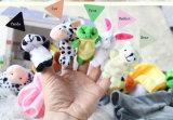 Peluche personnalisé animal en peluche marionnette de doigt