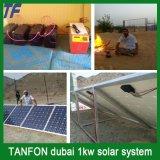 2kw с электрической системы решетки солнечной для домашней пользы