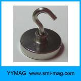 Crochets magnétiques agglomérés de néodyme d'aimant à vendre
