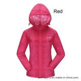 方法女性反紫外線薄い皮のジャケット