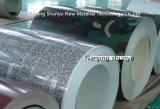Marmorndes Druck galvanisiertes Stahlblech im Ring für Möbel