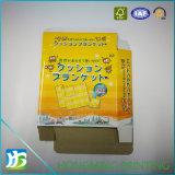 Caixa lustrosa impressa cor do alimento do papel da laminação