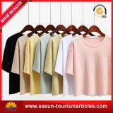T-shirt blanc en gros de forme physique de vêtements de femmes pour la vente en gros