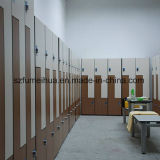 Einzelne Tür-Hochdruckvertrags-Laminat-Schließfach