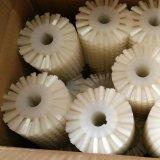 Brosse à rouleaux en nylon blanc avec des soies douces pour le nettoyage des aliments