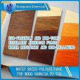 Água - poliuretano baseado para o verniz de madeira (PU-108)