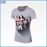 Stampa promozionale della maglietta dell'OEM di marchio su ordinazione di marca