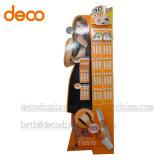 Plancher Affichage Pop carton Présentoir pour cosmétiques papier
