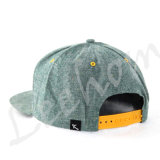 Chambray Oxford tissé Snapback Applicate nouvelle ère de la mode Sport Cap