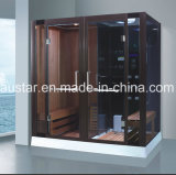Grande tamanho 2000mm Rectangle sauna combinada a vapor com chuveiro (AT-8862)