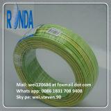 Fio elétrico isolado PVC do núcleo de cobre flexível