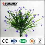 Populaire Green Grass artificielle promotionnel Sprig usine