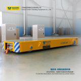 Het Controleren VFD de Snelheid Aangepaste Vlakke Aanhangwagen van het Spoor van de Industrie