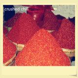 Granelli schiacciati dei peperoncini rossi dei peperoncini rossi