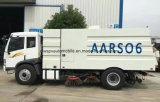 Тележка чистки дороги тележки 6cbm метельщика дороги Rhd FAW для экспорта