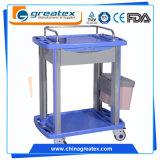 Medisch Karretje voor het Ziekenhuis/het Plastic Karretje van de Luxe (GT-Q101)
