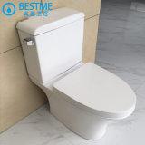 Pared redonda WC Montada de accesorios de latón baño