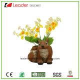 Decoratieve Kleine Planters Polyresin met het Standbeeld van Schapen voor de Decoratie van het Huis en van de Tuin
