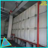 Tanque seccional de almacenamiento de agua SMC con ISO