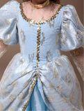 Klassisches blaues Feiertags-Partei-Kleid der Kugel-Prinzessin-Stage Performance Costume
