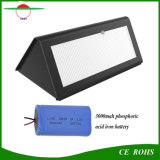 48 de Pared LED de luz solar jardín 800lm Outdoor Wireless Sensor de movimiento del radar de luces LED de luz de seguridad resistente al agua para patio patio