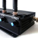 Регулируемый мощный Jammer сигнала мобильного телефона Walkie-Talkie 3G UHF VHF