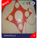 China Electric Silicone Rubber Band Aquecimento Hot Pad