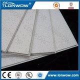 Carreaux de plafond à fibre minérale suspendue acoustique en Chine