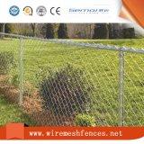 Загородка звена цепи Semai зеленая покрынная PVC гальванизированная