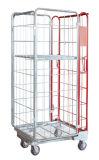 Cage logistique de mémoire de treillis métallique