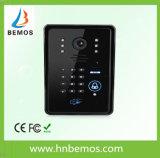 タッチ画面遠隔コントローラが付いているビデオドアの電話ドアベル7インチのホームセキュリティーのインターホンの