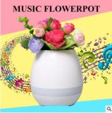 POT di fiore Colourful creativo di musica chiara del Flowerpot LED di Bluetooth