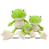 Standard Ce personnalisé jouet en peluche de grenouilles farcies soft