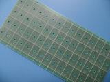 Raad de Van uitstekende kwaliteit Groene Soldermask van de Kring van PCB Enige Opgeruimde