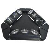lumière légère principale mobile de disco d'araignée infinie de lavage de faisceau de 9PCS *12W RGBW 4 In1 DEL