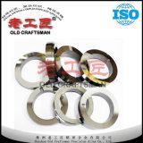シールのためのタングステンの超硬合金のリングおよび摩耗の部品