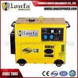 generador diesel silencioso estupendo del motor diesel del generador 5kVA de 5kw 5000W