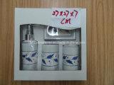 Conjunto del accesorio de cerámica del cuarto de baño 4 (de la dolomía) con el embalaje del rectángulo de regalo