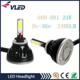 2017 nuovo faro automatico LED dell'automobile del kit 880 delle lampadine del faro del motociclo G5 LED dell'automobile di alto potere