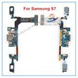 Гибкий трубопровод разъема загрузочного люка мобильного телефона USB для частей кабеля датчика края Samsung S7 S7