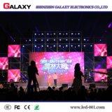 Muestra de alquiler de la visualización de LED de la durabilidad larga al aire libre de P3.91 P4.81 para la boda del concierto de la conferencia de noticias de la etapa